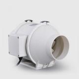 Lüfter / Ventilator Inline 100mm, 198m³/h, 156Pa, 26W, sehr sparsam, leise